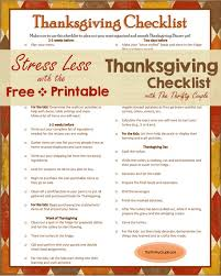 Plan The Perfect Thanksgiving With The Thanksgiving Timeline With