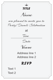 Wedding Invitation Template Online Customized Wedding Cards Online Marriage Invitation