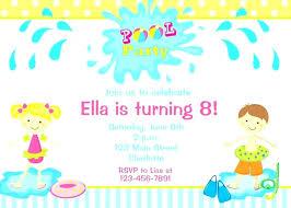 Baby Dinosaur Invitations Boy Pool Birthday Party Invitation
