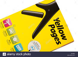 Yellow Pages Phone Book Stock Photo 48358860 Alamy