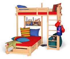 Furthermore the CALGARY bunk bed can be set up a WINNIPEG loft bed with its  five different assembly options without the need of ordering a conversion  set or