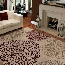Living Rooms With Area Rugs Decorating With Area Rugs On Hardwood Floors Cool View Rustic