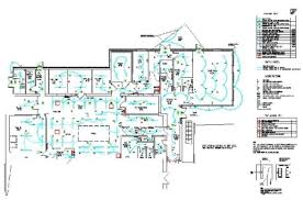 pkw cad services  glenfield  somerset drive  glenfield example of lighting and fire alarm  quot as fitted quot  cad drawing