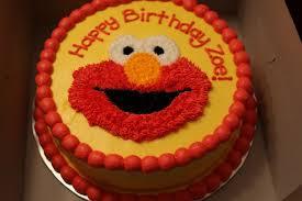 Elmo Cakes Customised Cake Birthday Cake Food Drinks Baked