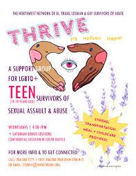 Assault curriculum group sexual support