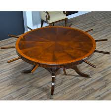 84 inch round perimeter table ndrt047