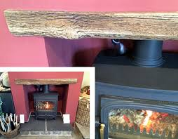 real timber beam fireplace lintels can be a problem for stove installations due to their combustible nature for instance building regulations stipulates