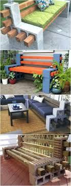 cinderblock furniture. Cinder Block Outdoor Furniture Diy Patio Fire Best Ideas On Bench Pool Indoorsolarlights . Deck Cinderblock A