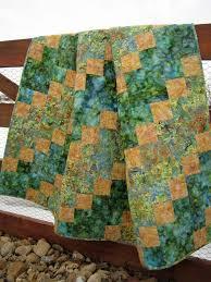 201 best Quilts - Batik images on Pinterest | Quilting ideas ... & Handmade Batik Quilt Meadows Adamdwight.com
