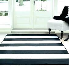 striped jute flat weave rug black and white kitchen archives home to new area red cream