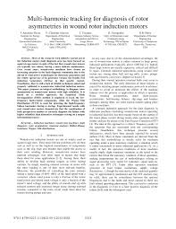 pdf multi harmonic tracking for diagnosis of rotor asymmetries in wound rotor induction motors