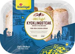 Kronfågel is the market leader in the poultry industry in sweden. Bbq Kycklingsteak Tryffel Kronfagel 850g Jamfor Pris Handla Via Matspar Se
