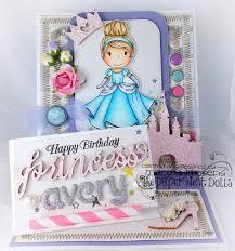 Happy Birthday Avery Paper Nest Dolls Happy Birthday Princess Avery