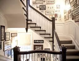 Decorating: Vintage Stair Gallery Wall Design - Gallery Wall