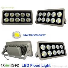 high power cob led flood light 150w 200w 300w 400w 500w waterproof outdoor garden spotlights commercial floodlights ac85 265v pir floodlight indoor flood