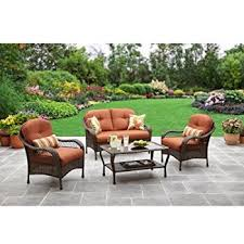 better homes and garden patio furniture. Beautiful Better Better Homes And Gardens Azalea Ridge 4Piece Patio Conversation Set Seats  4 And Garden Furniture H