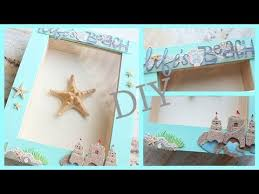 Small Picture DIY RoomApartment Decor Framed Starfish BEACH THEMED YouTube