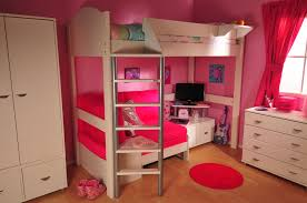 the loft bed with desk and futon for a bed and a working space within a bedroom square decor fabulous home interior ideas