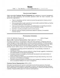 Resume Sample Create Free Customer Service Resume Samples