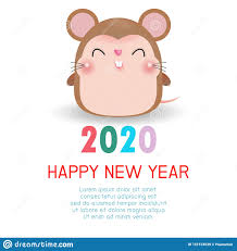 chinese new year card 2020 happy new year 2020 chinese new year the year of the rat