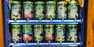 Fresh Fruit Vending Machines Custom Farmer's Fridge Vending Machine Business Insider
