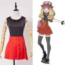 Pokemon XY Vor Kalos Quest Serena Standard Outfit Cosplay Kostüm Frauen  Full Set Kostüme|cosplay costume|cosplay costume womenwomens cosplay  costumes - AliExpress