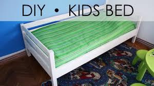 diy kids bed easy simple