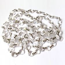 lighting acrylic crystal garland michaels fairy lights strands dollar tree willow led strand necklace