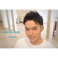 三代目登坂風アップバング メンズ専門ヘアサロン Mens Hair Loco