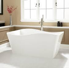 ... Bathtubs Idea, Cheap Bathtubs Bathtub Shower Cool Square Bathtub With  Curved Lines Mdoern Stainless Steel ...