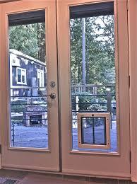 door sliding glass door with dog door built in best of how to install dog