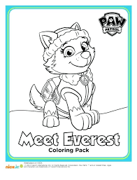 Popular Coloring Pages Paw Patrol Coloring Pages Visitpollinoinfo