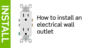 leviton presents how to install an electrical wall outlet leviton presents how to install an electrical wall outlet