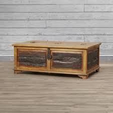 Hammary Hidden Treasures Trunk Coffee Table William Sheppee Kerala Blanket Box Trunk Coffee Table Reviews