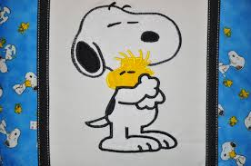 Snoopy Embroidery Designs Free Snoopy With Small Friend Embroidery Design