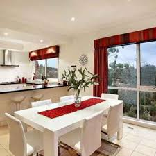 Red Curtains For Kitchen Red Kitchen Curtain
