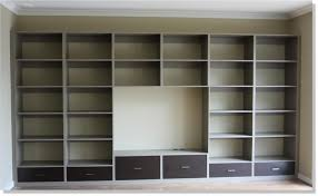 custom made wall unit with 6 drawers and space for tv bookshelf wall divider wall unit