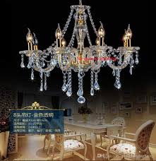 chandelier with fabric shades modern living room crystal chandelier lights fabric cover