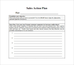 Example Sales Action Plan Sample Example Sales Action Plan Sample Rome Fontanacountryinn Com
