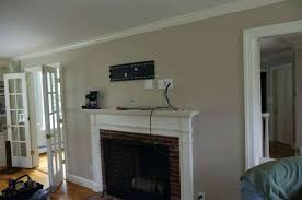 over fireplace mount inspirational luxury design how to hide wires stone best with tv corner above
