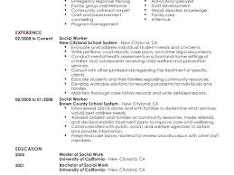 Construction Work Resume Sample. Social Work Resume Sample Objective ...