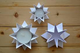 Kerzensta Cc 88nder Stern 2 Origami Teelicht Faltanleitung