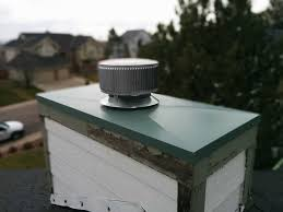 chimney cap chase cover