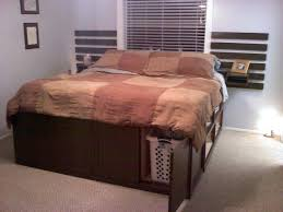 King Bed With Storage Headboard Awesome Best King Size Storage Bed ...