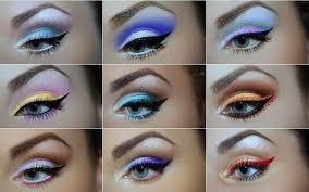 colorful summer smokey eye makeup tutorial