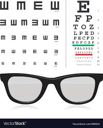 Eye Exam Snellen Chart Vector Snellen Eye Test Chart