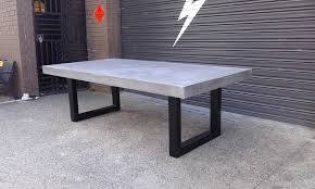 outdoor table. Outdoor Concrete Table F16 In Modern Home Interior Design With U