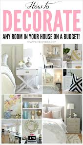 livelovediy how to decorate on a budget our house tour