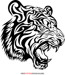 baby tiger drawing tattoo. Wonderful Baby Tribal Tiger Tattoo For Baby Drawing Y
