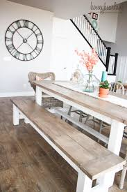 Kitchen Tables With Benches 25 Best Ideas About Kitchen Table With Bench On Pinterest
